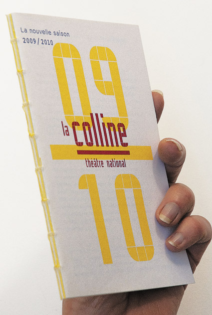 La Colline théâtre national 09/10 - Brochure