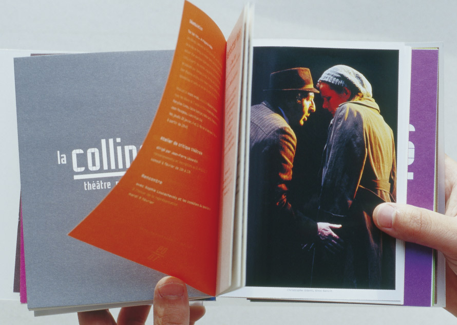 La Colline théâtre National 09/10 - Programme