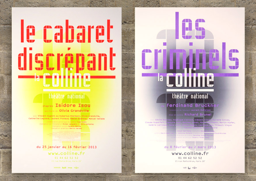 La Colline théâtre national 12/13 - Affiche