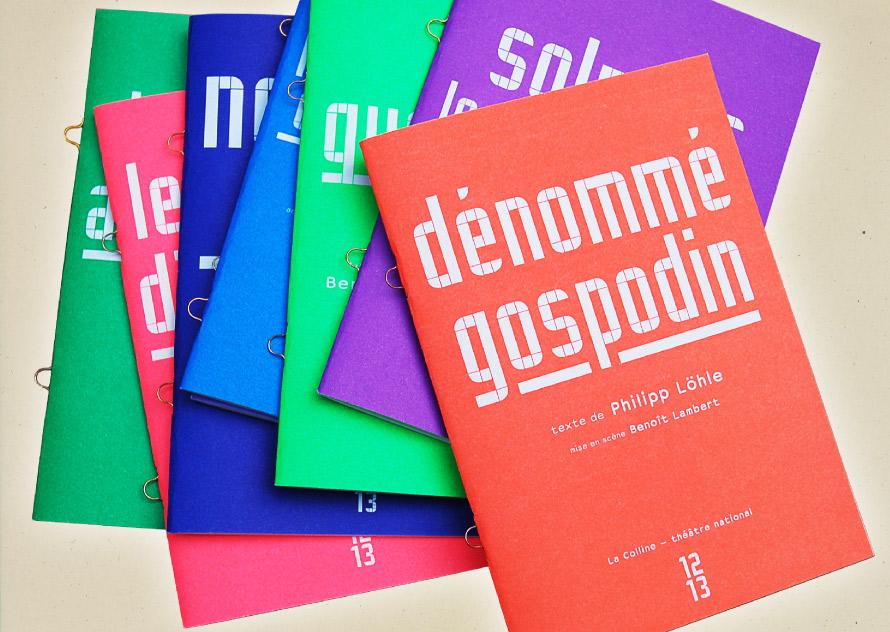 La Colline théâtre national 12/13 - Programmes