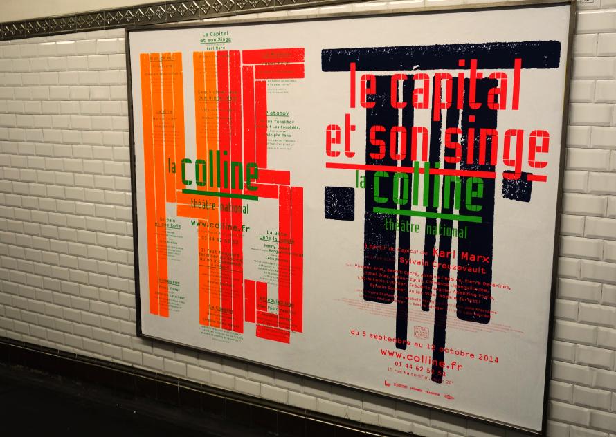 La Colline théâtre national 14/15 – Affiche