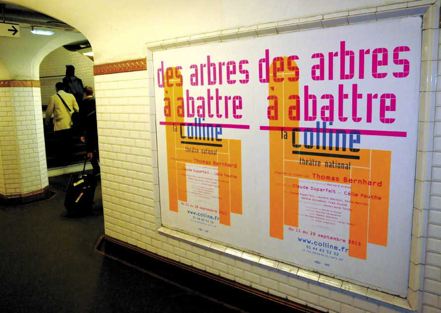 La Colline théâtre national 13/14 - Affiche