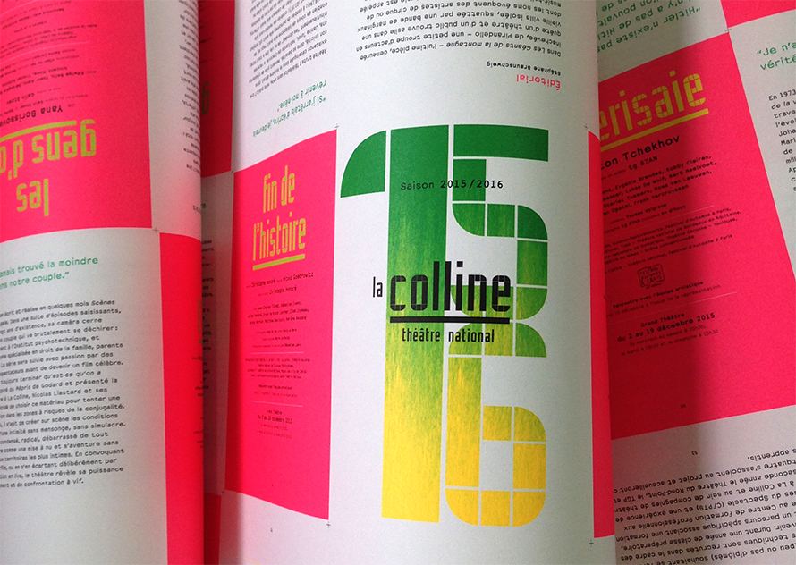 La Colline théâtre national 15/16 – Brochure
