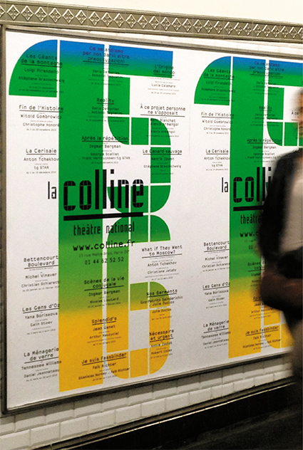 La Colline théâtre national 15/16 – Affiche