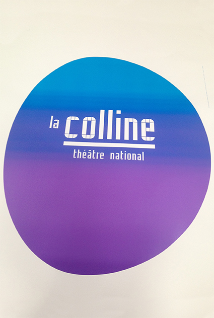 La Colline théâtre national 15/16 - Affiche