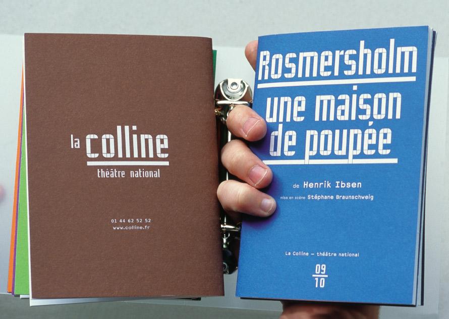 La Colline théâtre national - programmes