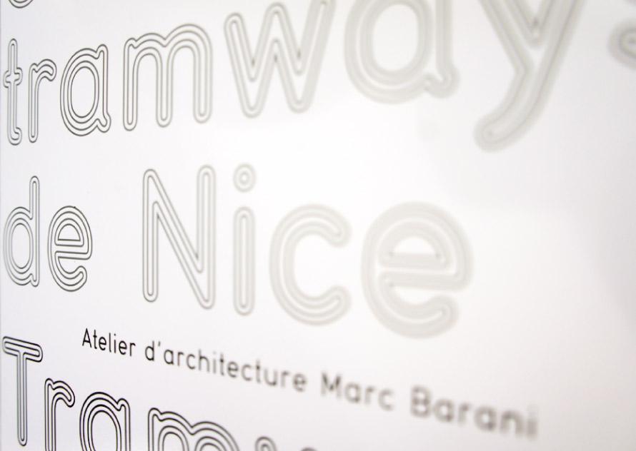 Exposition BNF, Tramway de Nice