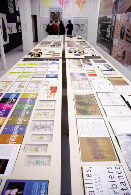 Exposition Une saison Graphique, le Havre, Le Portique