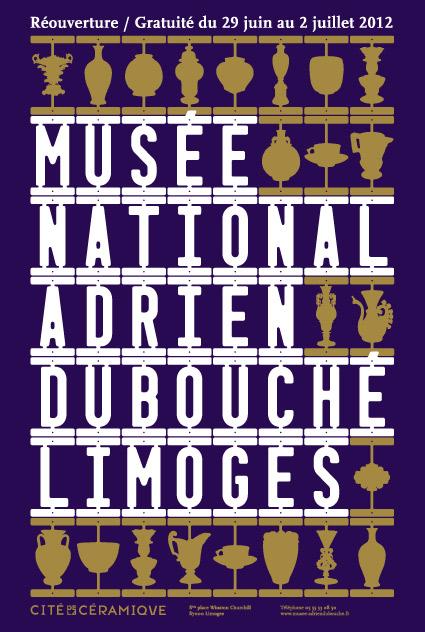 Musée National Adrien Dubouché - Affiche