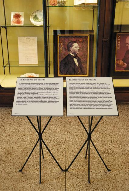 Musée National Adrien Dubouché - cartels