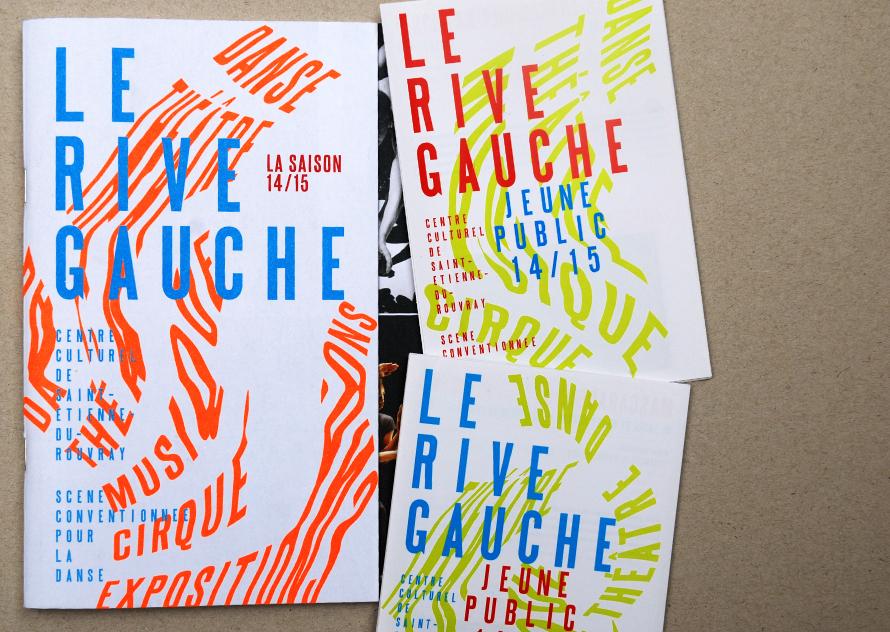 La Colline théâtre national 15/16 – Brochure saison et dépliants