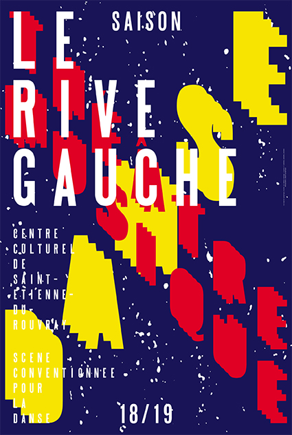 Le Rive Gauche centre culturel 18/19 - Affiche saison