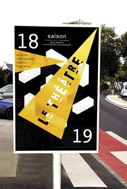 Le Théâtre – scène nationale de Saint-Nazaire 18/19 - Affiche