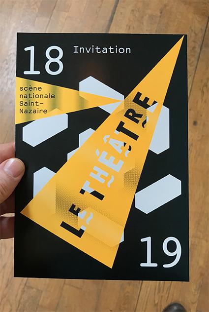 Le Théâtre – scène nationale de Saint-Nazaire 18/19 - Carte