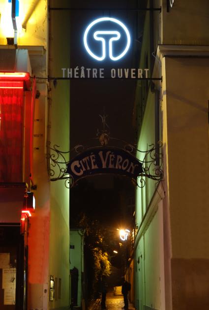 Théâtre Ouvert - enseigne