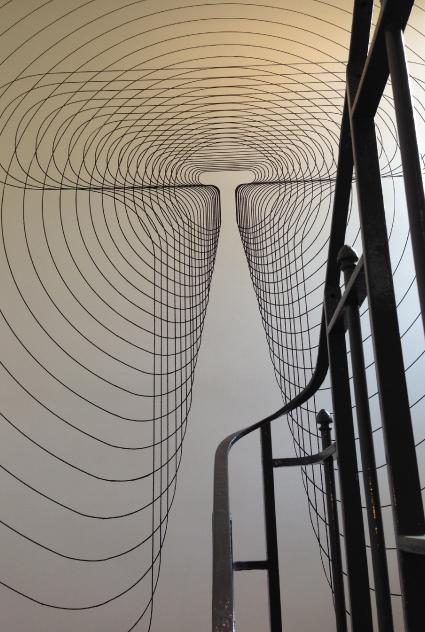 Théâtre Ouvert - signe escalier