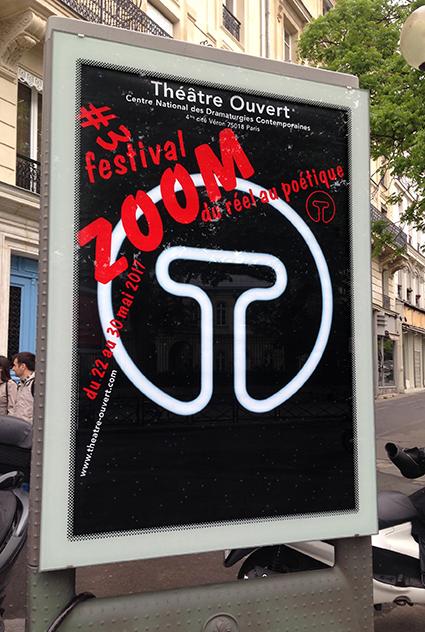 Théâtre Ouvert - Affiche ZOOM